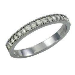 14k White Gold 1/4ct TDW Diamond Eternity Band (G, SI1)