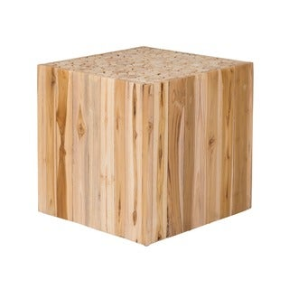 Decorative Tan Rustic Modern Grayson Side Table