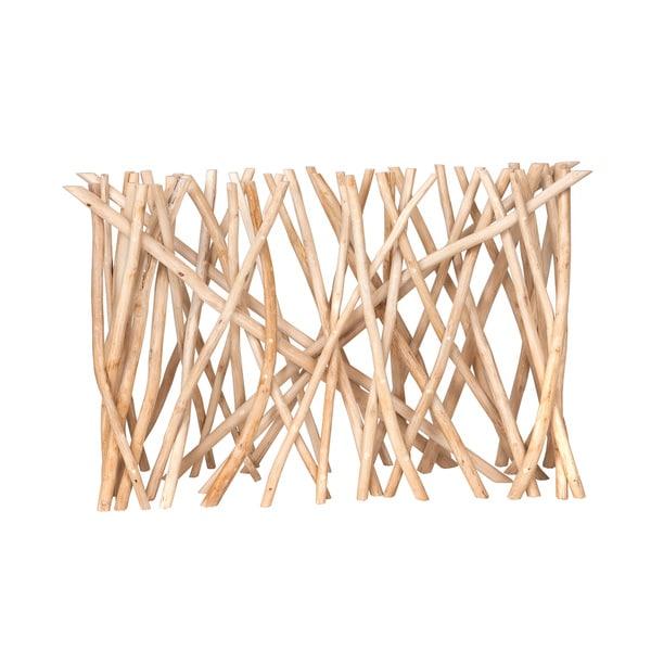 Shop Decorative Natural Rustic Transitional Coral Console