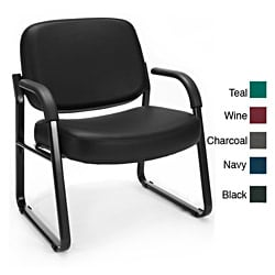 OFM 407-VAM Vinyl Big and Tall Guest and Reception Chair