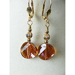 'Svetlana' Crystal Earrings