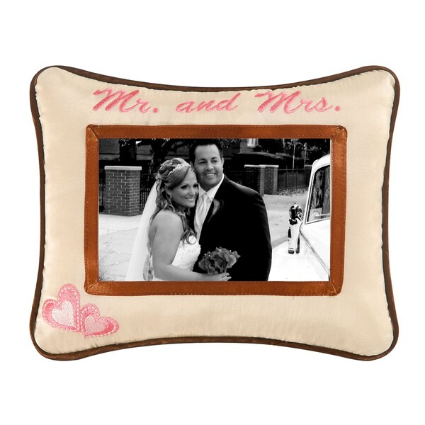 "'Mr. and Mrs.' Picture Pillow (8"" X10 "")"