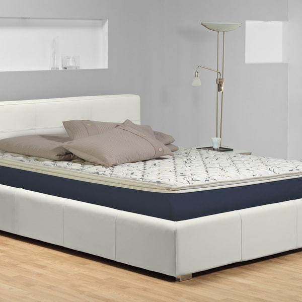 Wolf Sleep Accents Illusion Plush Pillowtop 12-inch Queen-size Mattress