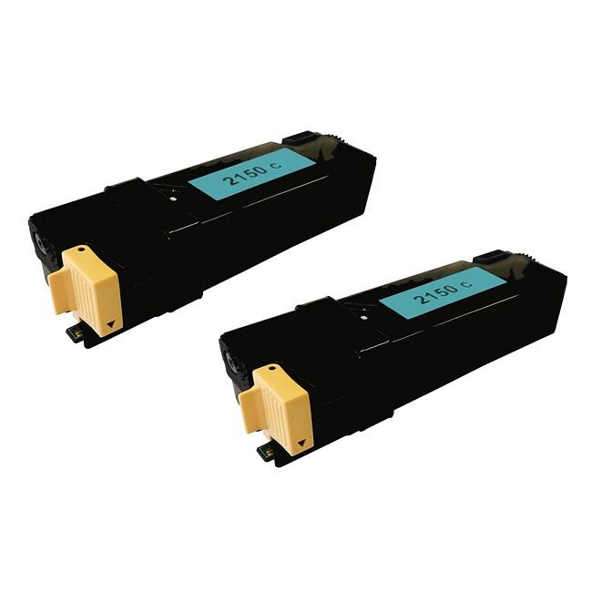 Dell 2150C Compatible Cyan Toner Cartridges (2 Pack)
