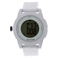 Nixon Men's A326-100 Genie All White Digital Watch|https://ak1.ostkcdn.com/images/products/6737437/79/785/Nixon-Mens-A326-100-Genie-All-White-Digital-Watch-P14283114.jpg?impolicy=medium