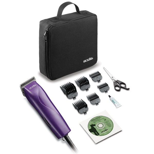 Andis Company Pet EasyClip Groom 12-piece Clipper Kit