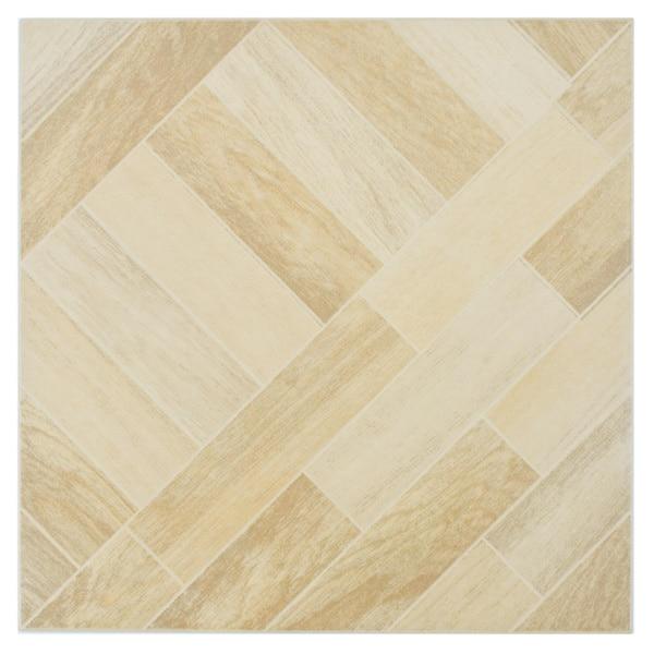 SomerTile Techwood Maple Porcelain Floor and Wall Tiles (Case of 11)