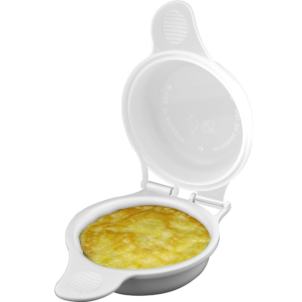 As Seen on TV Microwave Egg Cookes by Chef Buddy (Set of 2)