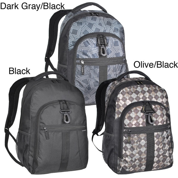 Everest Deluxe 18-Inch Backpack for 15-inch Laptops