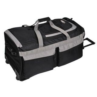 Everest 29-inch Black/Grey Rolling Upright Duffel Bag