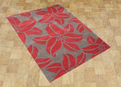 Handmade Sabrina Acorn Wool Rug (5' x 8') - Thumbnail 1