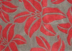 Handmade Sabrina Acorn Wool Rug (5' x 8') - Thumbnail 2