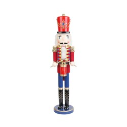 Christmas 24-inch Red Nutcracker Drummer Soldier