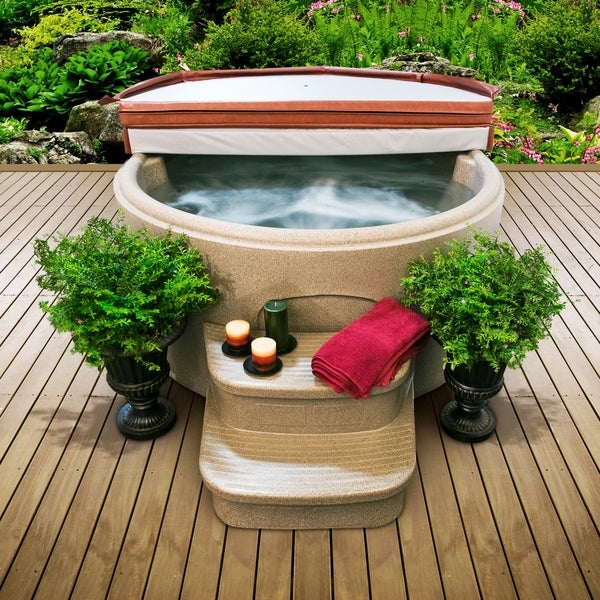 Lifesmart Rock Solid LS 200 DX Plug and Play Spa with 12 Jets