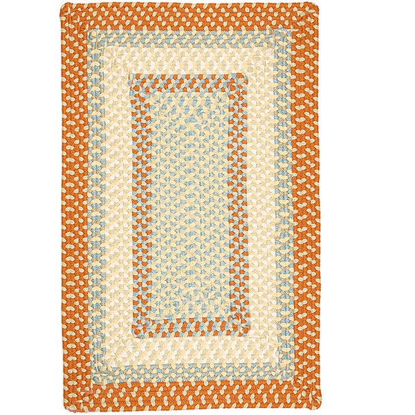Color Market Orange Accent Rug - 2' x 3'