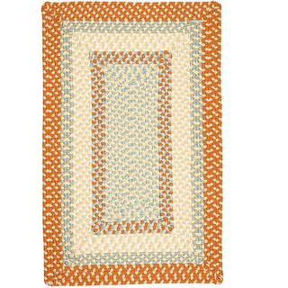 Color Market Orange Accent Rug (2' x 3') - 2' x 3'