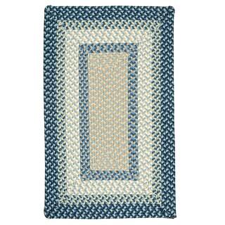 Color Market Blue Accent Rug (2' x 3')