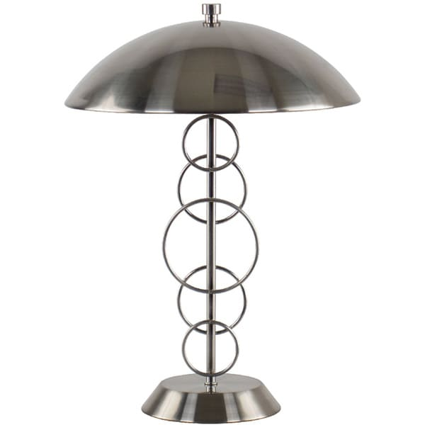 Halo Brushed Nickel Table Lamp
