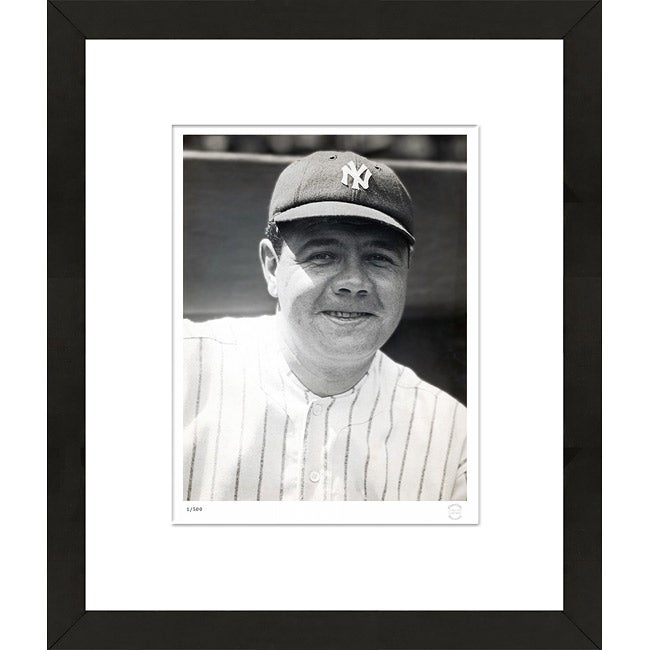 Officially Licensed RetroGraphics Babe Ruth 1923 Framed Sports Photo