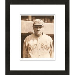RetroGraphics Babe Ruth Rookie Era Framed Sports Photo