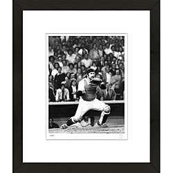 RetroGraphics Thurman Munson Framed Sports Photo