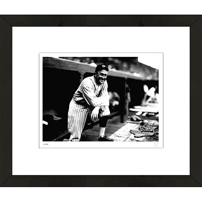 "RetroGraphics Ty Cobb Framed ""Dugout"" Sports Photo"