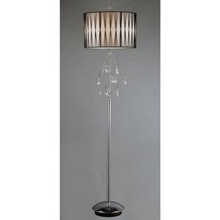 Chrome Crystal Floor Lamp