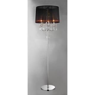 Floor lamps for less clearance liquidation overstock crystal elegance floor lamp mozeypictures Image collections