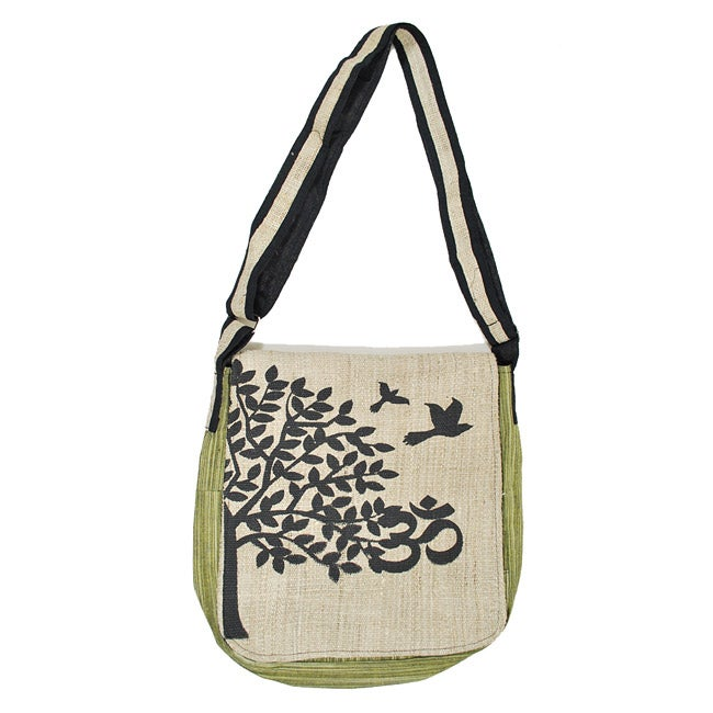 'Free Bird' Hemp Purse (Nepal)