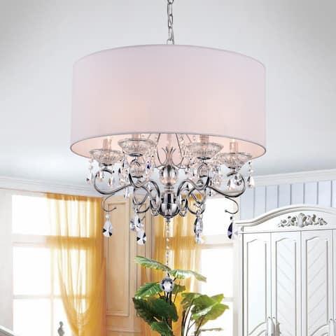 Krissy 6-light Crystal Chandelier