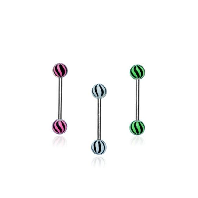 Black Swirls Barbells (Pack of 3)