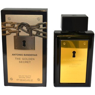 Antonio Banderas The Golden Secret Men's 3.4-ounce Eau de Toilette Spray