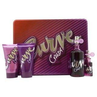 Liz Claiborne Curve Crush Women's 4-piece Gift Set