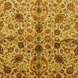 Herat Oriental Indo Hand-knotted Mahal Wool Rug (6' x 9') - Thumbnail 1