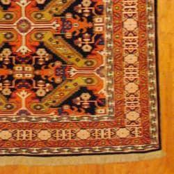 Herat Oriental Persian Hand-knotted Tribal Kurdish Wool Rug (5'6 x 9'3) - Thumbnail 2