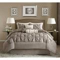 Madison Park Vivian Polyester Solid Tufted 7-piece Comforter Set