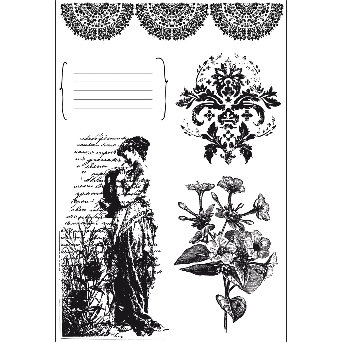 Charlotte's Dream Clear Stamps