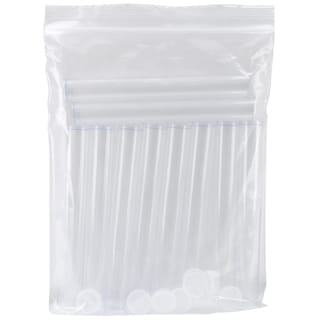 "Clear Tall Round Craft Tube 8"" 10/Pkg"