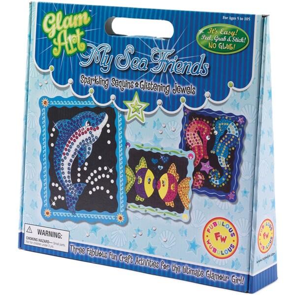 Do-A-Dot Glam Art Kit-My Sea Friends