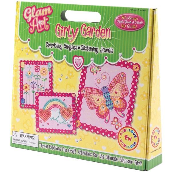 Do-A-Dot Glam Art Kit-Girly Garden