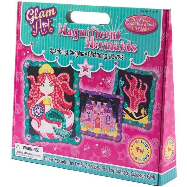 Do-A-Dot Glam Art Kit-Magnificent Mermaids