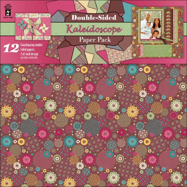 Paper Pack 12X12IN-Kaleidoscope