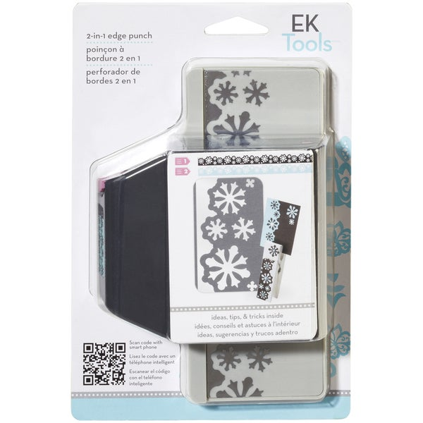 Slim 2 In 1 Edger Punch-Snow Flurries. Opens flyout.