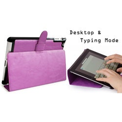 Kroo 'Venice' Hard Shell Tablet/iPad Storage Case/Stand - Thumbnail 1
