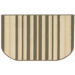 Nourison Essentials Stripe Green Rug (2'6 x 1'7)