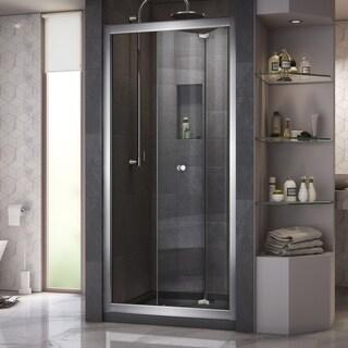 DreamLine Butterfly 30 to 31 1/2 in. Frameless Bi-Fold Shower Door