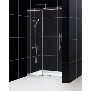 DreamLine Enigma-X 44 to 48 inches Fully Frameless Sliding Shower Door