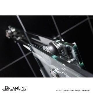 DreamLine Enigma-X 56 to 60 in. Fully Frameless Sliding Shower Door (2 options available)