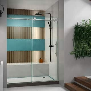 DreamLine Enigma-X 56 to 60 in. Fully Frameless Sliding Shower Door|https://ak1.ostkcdn.com/images/products/6740383/P14285574.jpg?impolicy=medium