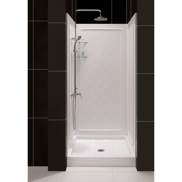 DreamLine 30-40 in W Qwall Back Wall Shower Kit